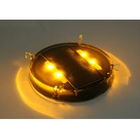 IP68 GPS Synchronizing Solar Powered Ground Lights with Polycarbonate Shell Manufactures