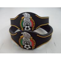 Eco Friendly Black Wristband Custom Silicone Bracelets for Girls Manufactures