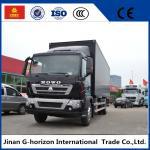 336HP Van Cargo Truck SINOTRUK HOWO 4X2 Euro 2 Lorry Vehicle Heavy Cargo Truck Manufactures