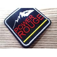 Environmental 3D Custom Embroidered Patches Sew Iron On For Clothing , Bag Manufactures