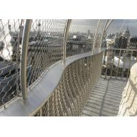 China Facade Cladding Or Architectural Wire Mesh / Stainless Steel Cable Mesh on sale
