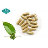 Green Safe Effective Weight Loss Pills Coffee Bean Extract 400mg Capsules with 50% Chlorogenic Acid Manufactures