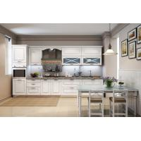 Moisture Resistant Particle Board Kitchen Cabinets 16mm Melamine Board Making Manufactures