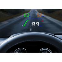 High - Definition 4  Obd2 Heads Up Display T100 OBD2 Interface High Temperature Alarm Manufactures