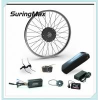 48V 500W Electric Mountain Bike Kit Gear Motor With LG Cell Lithium Battery Manufactures