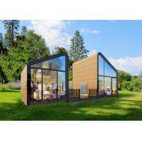Fire Proof Garden Office Studio / Prefab Garden Office Custom Design ISO9001 Manufactures