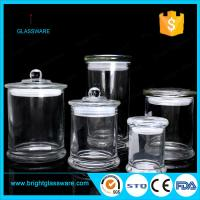 3oz 8oz 12oz glass candle jar in stock, best quality clear metro glass jar Manufactures
