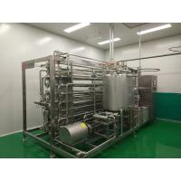 Beverage Dairy Syrup Sterilization Equipment 5.5kw Power Automatic Control System Manufactures