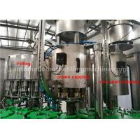 China Pineapple Juice Glass Bottle Filling And Capping Machine 330ml ISO Certificated on sale