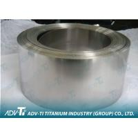 Quality Cold Rolling Titanium Strip Coil ASTM Standard For Minerals & Metallurgy for sale