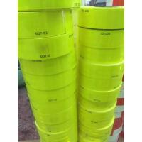 Trailer Flourescent Yellow Green Reflective Conspicuity Tape PSA Adhesive DOT C2 Manufactures