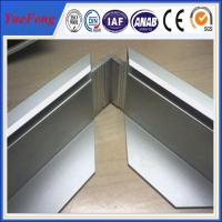 Sand blasting and anodising aluminum extrusion for solar frame 6063 alloy Manufactures