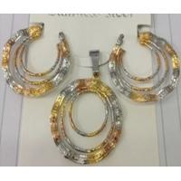 Bridal Jewelry Three Color Fashion Jewelry Sets for Women Manufactures