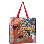 Customized 100% Polypropylene Tote Bags Silk Screen Printing Hot Stamping Manufactures