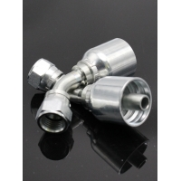 China 60° Carbon Steel Internal Thread Jic Joint on sale