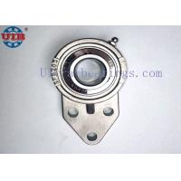 3 Bolt Stainless Steel Flange Bearing Housing SSUCFB205 Anti Corrosion Manufactures