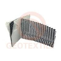 Plastic Geocomposite Drainage Net Layer 50 Meter Roll Length Anti Seepage Effect Manufactures