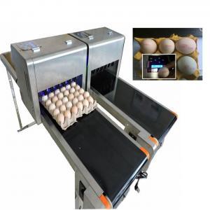 Buy cheap Digital Egg Batch Coding Machine / Inkjet Coding MachineFor Effective Date from wholesalers