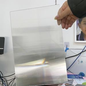 UV flatbed printing material cylinder lens 25 lpi 4mm thickness lenticular for uv flatbed printer and inkjet print Manufactures