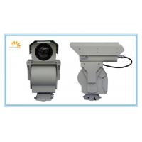 China Infrared PTZ Thermal Imaging Camera 6KM , Long Range UFPA Sensor Camera on sale
