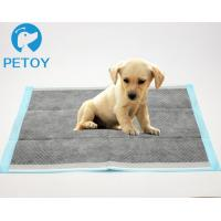 Eco Friendly  Pet Toilet Training Pads Bamboo - Charcoal  Customized Size Manufactures