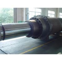 1500mm Custom Aluminum Hydraulic Hoist Cylinder With Small Air Viscosity Manufactures