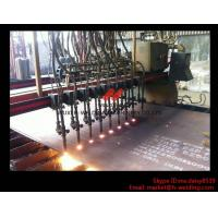 Flame CNC Gantry Cutting Machine Single Side Drive For Plate Cutting 5000mm Rail span Manufactures