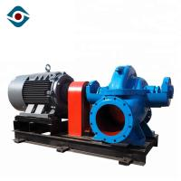 Large Capacity Horizontal Submersible Axial Flow Pump High Efficiency Single Suction Manufactures