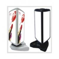 Floor Verical rotating light box Manufactures