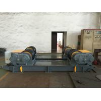 Dual PU Wheel Welding Pipe Turning Rolls / Conventional Welding Rotator Loading 200T Pressure Vessel