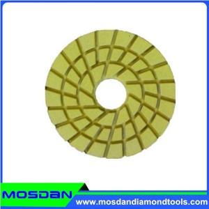 China Spiral Diamond Floor Polishing Pads on sale