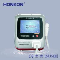 Arms / Armpits / Chest 808Nm Diode Laser For Hair Removal with Sliding and Flash Mode Manufactures