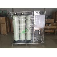 SS Reverse Osmosis Water Purification Equipment With Active Carbon And Quartz Sand for sale