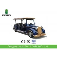 Luxury Design CE Approved 5KW Vintage Golf Carts 8 Passenger Classic Electric Car Manufactures
