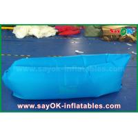China Two Opening Promotional Inflatable Products Camping Laybag Lazy Air Couch on sale