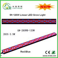 IP44 High Brightness Linear Grow Lights For Indoor Plants , PPMA Cover Manufactures