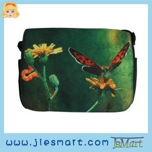 China JSMART LUCY Canvas messenger bag custom made sublimation printing photo bag on sale