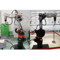 China Multi Function Arc Welding Robot , Automated Welding Machine 6 Axis High Precision on sale