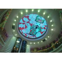 Quality Creative LED Ceiling Display Customized Type Ceiling LED Video Wall Screen for sale