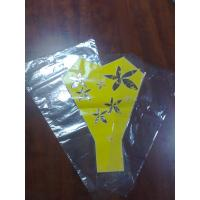 China Flower or Gift Packaging Perforation LDPE Flower Sleeves Plastic Flower Bags on sale