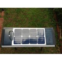 Waterproof Efficient Sunpower Flexible Solar Panels Kits High Reliability 25W Manufactures
