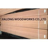 Buy cheap Sapele Wood Quarter Cut Veneer Sheet Natural Pink For Plywood from wholesalers
