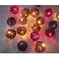 Rattan String Lights (CVR001) Manufactures
