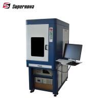 3w 5w 8w 10w 15w Desktop UV Laser Marking Machine For Packing Bag and IC Card Manufactures