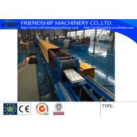 China Automatic PU Sandwich Rolling Shutter Roll Forming Machine 0.5-0.8mm Thickness on sale