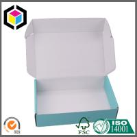 Inside White Custom CMYK Full Color Offset Print Paper Corrugated Box for Shipping Manufactures