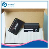 Supermarket Magnetic Card , Double Sided Glossy Offset Plastic Card Printing Manufactures