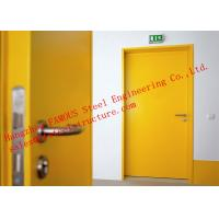 European Standards Steel Fire Resistant Single Door For Household Or Office Use Manufactures