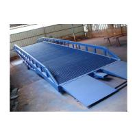 10 ton Mobile Loading Dock Ramp Yard Ramp With Handle Pump Forklift Container Ramp Manufactures