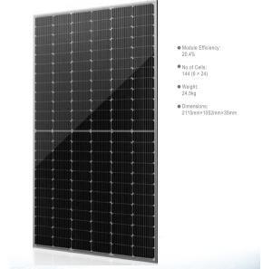 China PV Solar Energy System Solar Panels , Mono 450W PV Module Solar Power Plant on sale